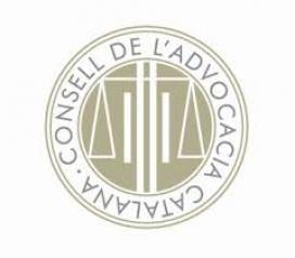 El logotip del Consell de l'Advocacia Catalana