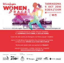 Cartell Women Race El Corte Inglés. Font: Womanrace