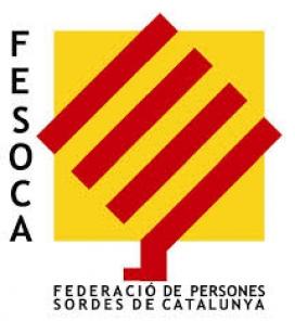 Logo de la Federació de Persones Sordes de Catalunya
