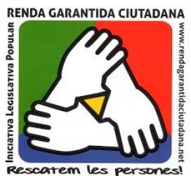 El logotip de l'ILP per a la renda garantida