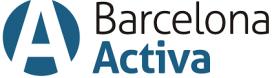El logotip de Barcelona Activa. Font: Barcelona Activa