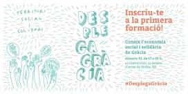 Desplega Gràcia: Coneix l'economia social i solidària de Gràcia