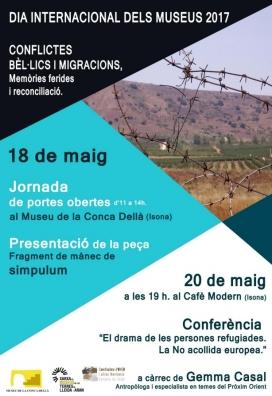 Cartell de l'esdeveniment. Font: Coordinadora ONG Lleida