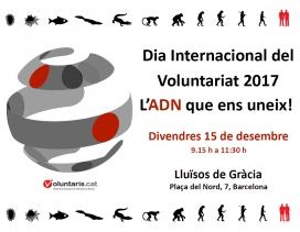 Dia Internacional del Voluntariat a Barcelona de la FCVS