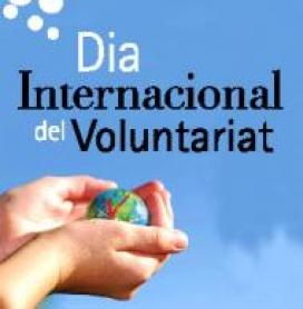 Cartell del Dia Internacional del Voluntariat de la FCVS