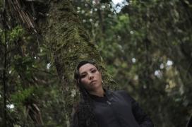Diana Avella, artista colombiana de hip-hop pels drets humans.