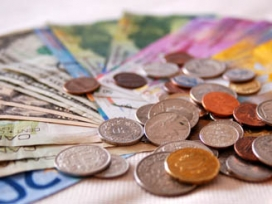 Imatge bitllets i monedes
