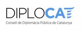 Logotip del Consell de Diplomàcia Pública de Catalunya. Font: DIPLOCAT