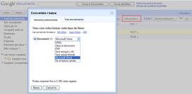 Exportació de documents