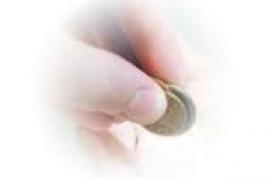 Dit amb una moneda