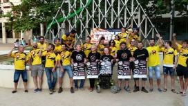El passat mes de juny, es van donar 1500 euros al Festival Tupa Tupa Fest.
