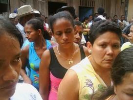 Desplaçament forçat de dones a Colòmbia (Font: Luz Elena Arboleda)