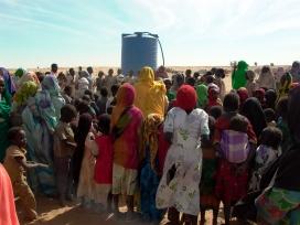 Dones i nenes desplaçades del Darfur