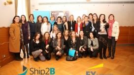 Foto de grup: dones inversores en projectes amb impacte social