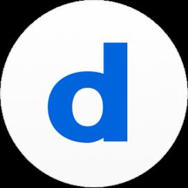 Logotip de l'aplicació Doodle.