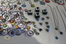 Anells i collarets reciclats de La Matica