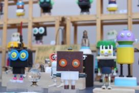 Joguines fetes amb peces recicaldes de Rusty Deimos