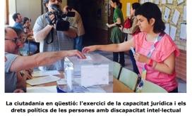 Dincat és una de les plataformes catalanes que treballa per millorar la qualitat de vida del col·lectiu amb discapacitat. Font: Dincat