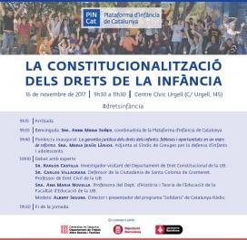 'La Constitucionalització dels drets de la infància'