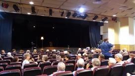 Presentació de l'espectacle al Centre Catòlic de Sants.