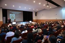 Conferència del II Congrés celebrat a Bogotà.