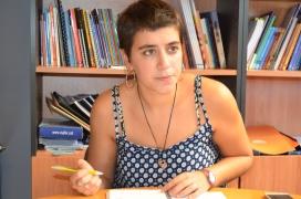 Carla Valle, membre del secretariat de Casals de Joves de Catalunya (autora: Marta Rius, 2016).