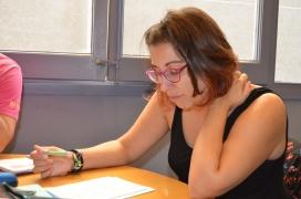 Marta Cortina, membre de l'equip de direcció d'ESPLAC (autora: Marta Rius. 2016).