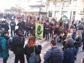El 21 de març es va realitzar una ruta per La Rambla amb perspectiva antiracista