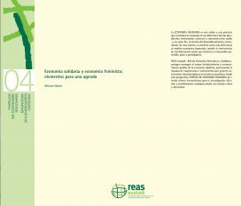 """Portada de l'estudi """"Economia solidària i economia feminista: Elements per a una agenda"""". Font: Marxa Mundial de les Dones"""