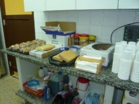 La cuina del menjador social El Caliu