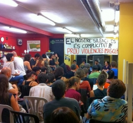 Xerrada d'Aliats del Feminisme / Font: elditalanafra.blogspot.com
