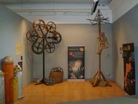 Exposició d'elements de pirotècnia tradicional. Autor: Lo Carranquer