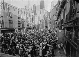 Imatge antiga de les Festes de Sant Roc