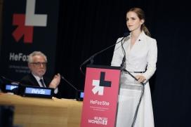 Emma Watson, impulsora de la campanya He For She.