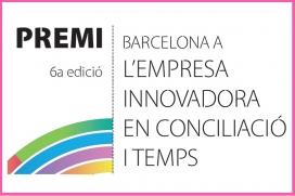 Premi Barcelona a l'empresa innovadora en conciliació i temps 2017