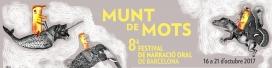 Banderola del Festival Munt de Mots