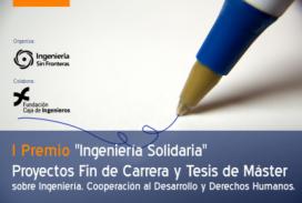 Cartell I Premi 'Enginyeria Solidària'