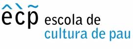 Logotip de l'Escola de Cultura de Pau. Font: ECP