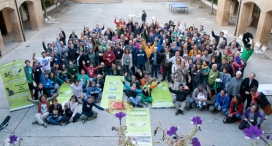 Participants de l'Escola de Setembre celebrada el 2016 a Beire. Font: Som Energia