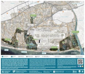 El mapa del sector actualment protegit del Delta del LLobregat (imatge: SOSDeltaLLobregat.org)