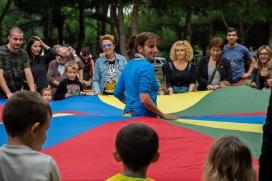 A banda de concerts, el Festival ofereix activitats per a tots els públics. Font: Festival Esperanzah