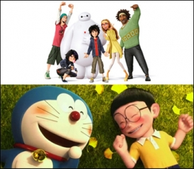 'Stand by me Doraemon' i 'Big Hero 6'