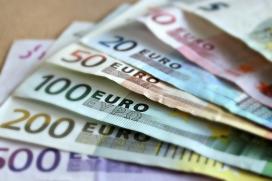 Bitllets d'euro.