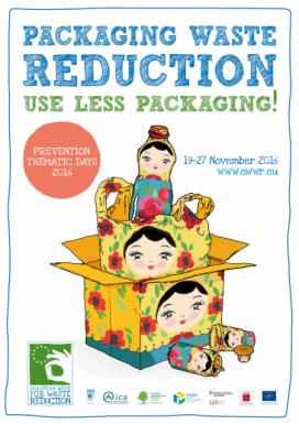 Enguany la Setmana Europea es centra en la problemàtica dels envasos (imatge: ewwr.eu)