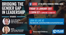 Facebook Live organitzat per Save the Children. Font: Twitter