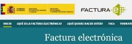 Portal Factura-e Ministeri d'Hisenda