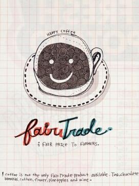 Fairtrade coffee. Imatge CC de Flickr: www.flickr.com/photos/nyoin/2534708848/