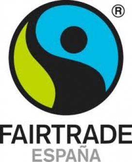 El logotip de Fairtrade Espanya