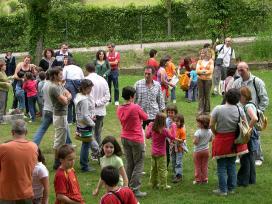 Trobada organitzada per l'AMPA de l'escola Pau Vila de Sant Feliu de Llobregat.