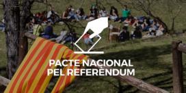 La FCEG s'adhereix al Pacte Nacional pel Referendum